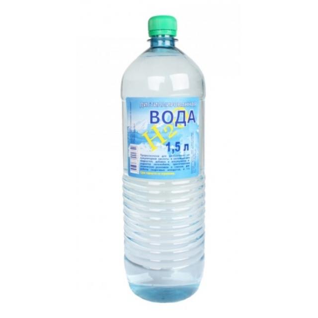 Вода дистилированная 1.5л.